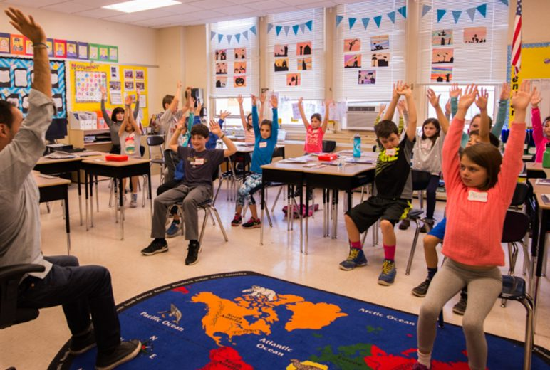 Teaching Yoga in Elementary Classroom