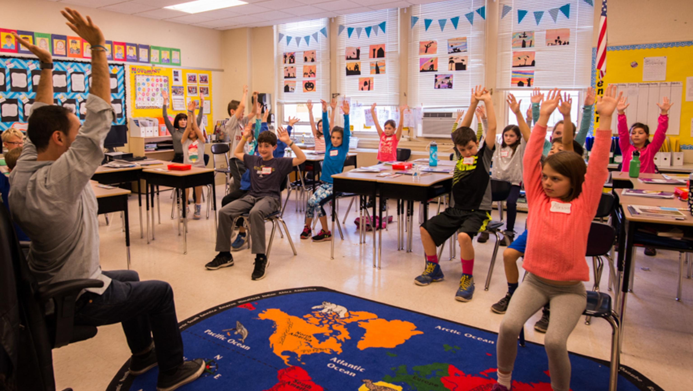 Teaching Yoga in Elementary Classroom