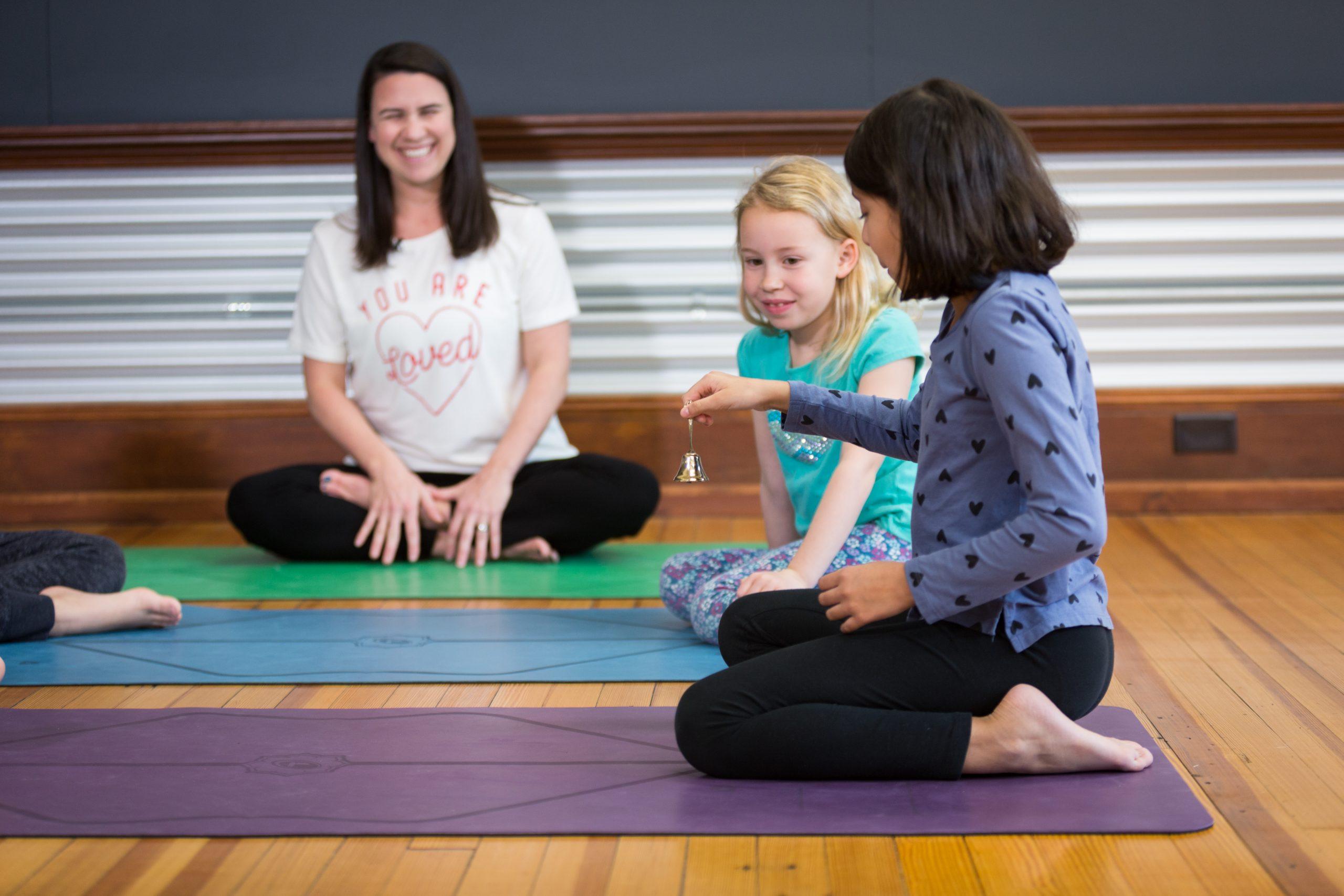 Training Little Flower Yoga